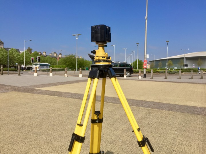 NCTech iSTAR camera and the Topcon GLS-2000